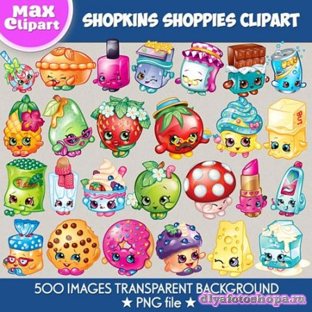 Shopkins Shoppies clipart